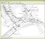 Detailansicht der Objekte in der Infrastrukturkart (lagegenau)